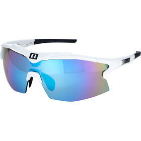 Bliz Tempo M12 Brille white/smoke/blue multi